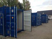 WO Lager Container für Hausrat
