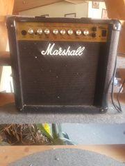 Marshall gitarren verstärkter