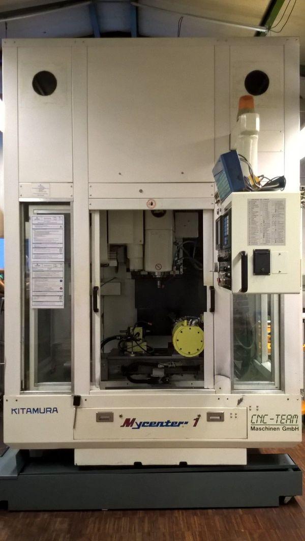 Vertikal Bearbeitungszentrum Kitamura Mycenter 1