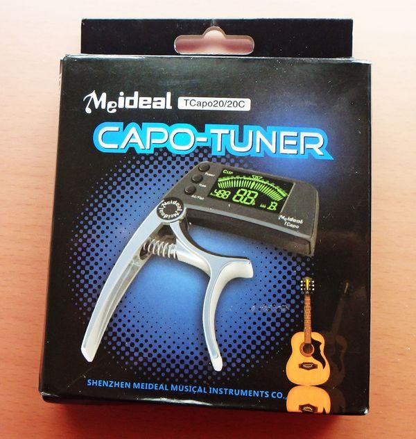 Kapotaster - für Gitarre und Gitarrenbass