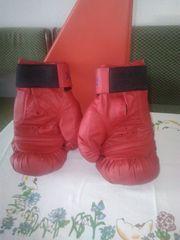 Boxhandschuhe und Sprungseil