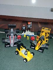 Playmobil F1 Rennwagen 2 Stück