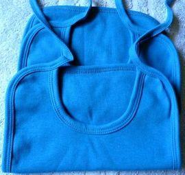 Baby Organic T-Shirt EarthPositive blau: Kleinanzeigen aus Niederfischbach - Rubrik Babykleidung/ -schuhe