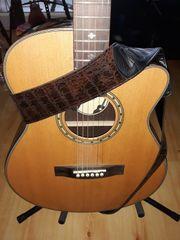 Elektroakustische Gitarre Deluxe Single Cutaway