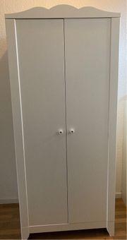 Kleiderschrank Kinder weiß 80x50x187 cm