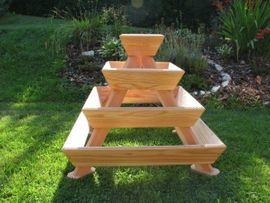 Sonstiges für den Garten, Balkon, Terrasse - Hochbeet Pyramide Kräuterschnecke Sofort Versandfertig