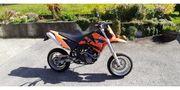 Leichtmotorrad KTM 640