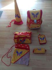 Schultasche Schulranzen Schulrucksack -Set gebraucht