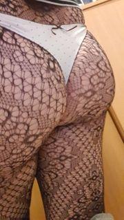getragene Strumpfhosen