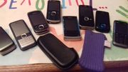 8 Nokia Handys
