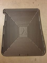 Z1621918 Paßform-Gummimatte hinten links mokka