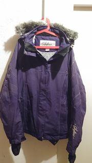 Damen-Skijacke Gr 40 Farbe lila