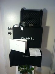 100 original Chanel Boy Bag