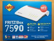 FritzBox 7590 neu ovp unbenutzt