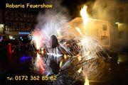 Feuershow Magdeburg Halle Sachsen Anhalt