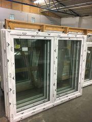 Kunststofffenster 180x150 2 flg aus