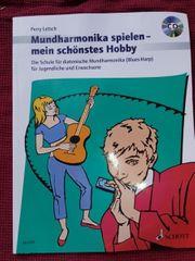 Mundharminika lernen mit Cd Buch