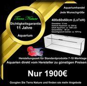 Aquarium Handel 400x60x60cm 1440 L