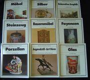 9 x Battenberg Antiquitäten Kataloge