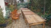 Alte Antike Holztische Esstisch Eiche