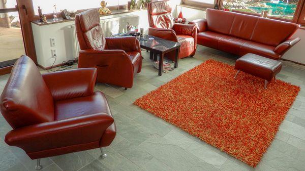 Wohnzimmer Relaxsessel elektrisch 3er Couch