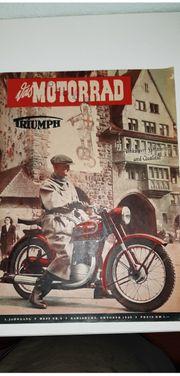Zeitschrift DAS MOTORRAD Oktober 1949