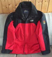 Snowboard- Ski-Jacke rot-schwarz Gr XL