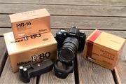 Nikon F80 Sigma 28-200 mm