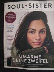 NEU ungelesen Zeitschrift SOUL-SISTER Women