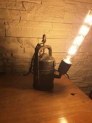 Kuriose Lampe