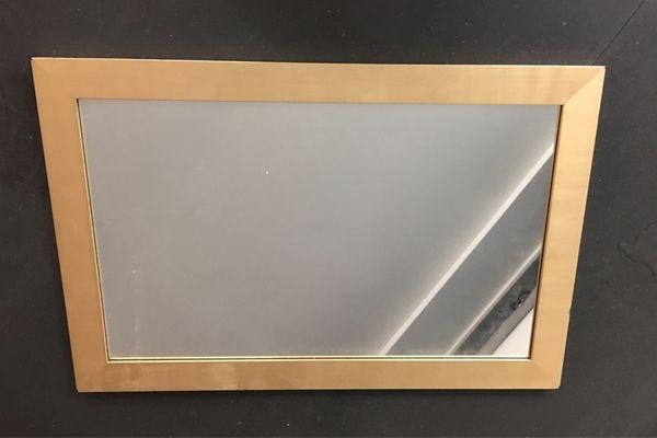 Spiegel gerahmt