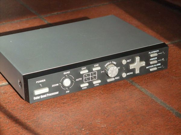Color Quad Prozessor für Videoüberwachung
