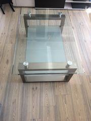 Glastisch 110x70 cm