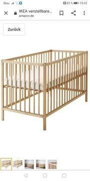 Ikea Babybett 120x60 und hochwertige
