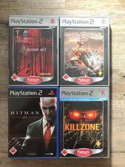Verschiedene PlayStation 2 Spiele