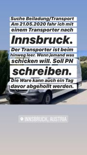 Transport nach Innsbruck