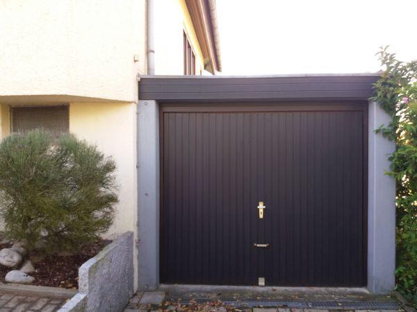 garagentor wei gebraucht kaufen nur 3 st bis 70 g nstiger. Black Bedroom Furniture Sets. Home Design Ideas