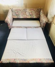 Schlafsofa Couch Bett mit Lattenrost