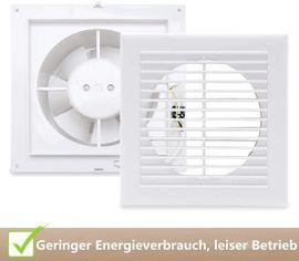 Bad, Einrichtung und Geräte - O 100mm Badlüfter Wandlüfter Ventilator
