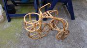 Dreirad als Blumentopfhalter Deko