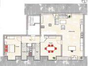Stadtgrenze 3 Zimmer Wohnung ca