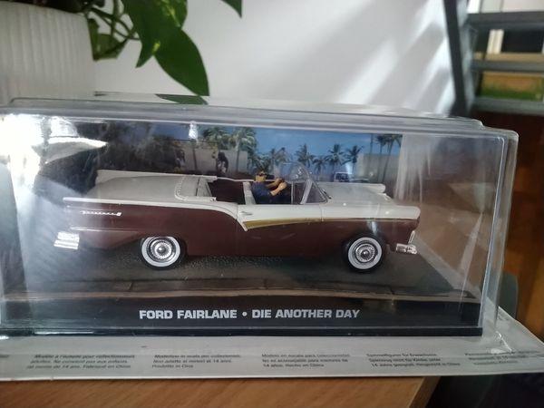 Große Auflösung James-Bond-Modellauto-Collection