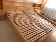 Bett Doppelbett mit Lattenrosten verstellbar