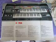 Hochwertiges vintage Keyboard Elka