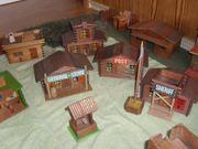 Holzspielzeug - Western Siedlung