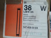 36 Leuchtstoffröhren Osram L38W 25