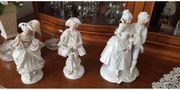 Figurengruppe Rokoko echt Porzellan Hand