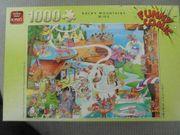Puzzle 1000 Teile Comic-Puzzle Rocky