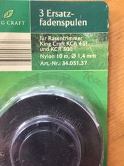 King Craft Ersatzfadenspulen