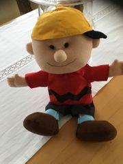 Plüschfigur Vintage Peanats Charlie Brown